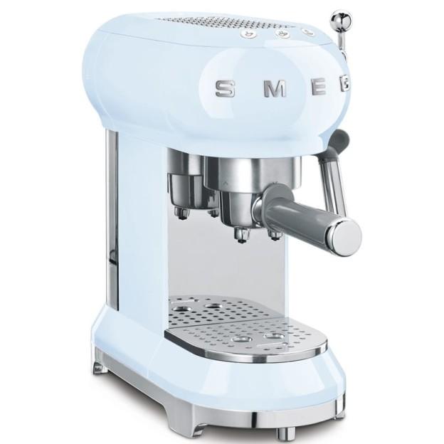 kávovar smeg ecf01 recenze review